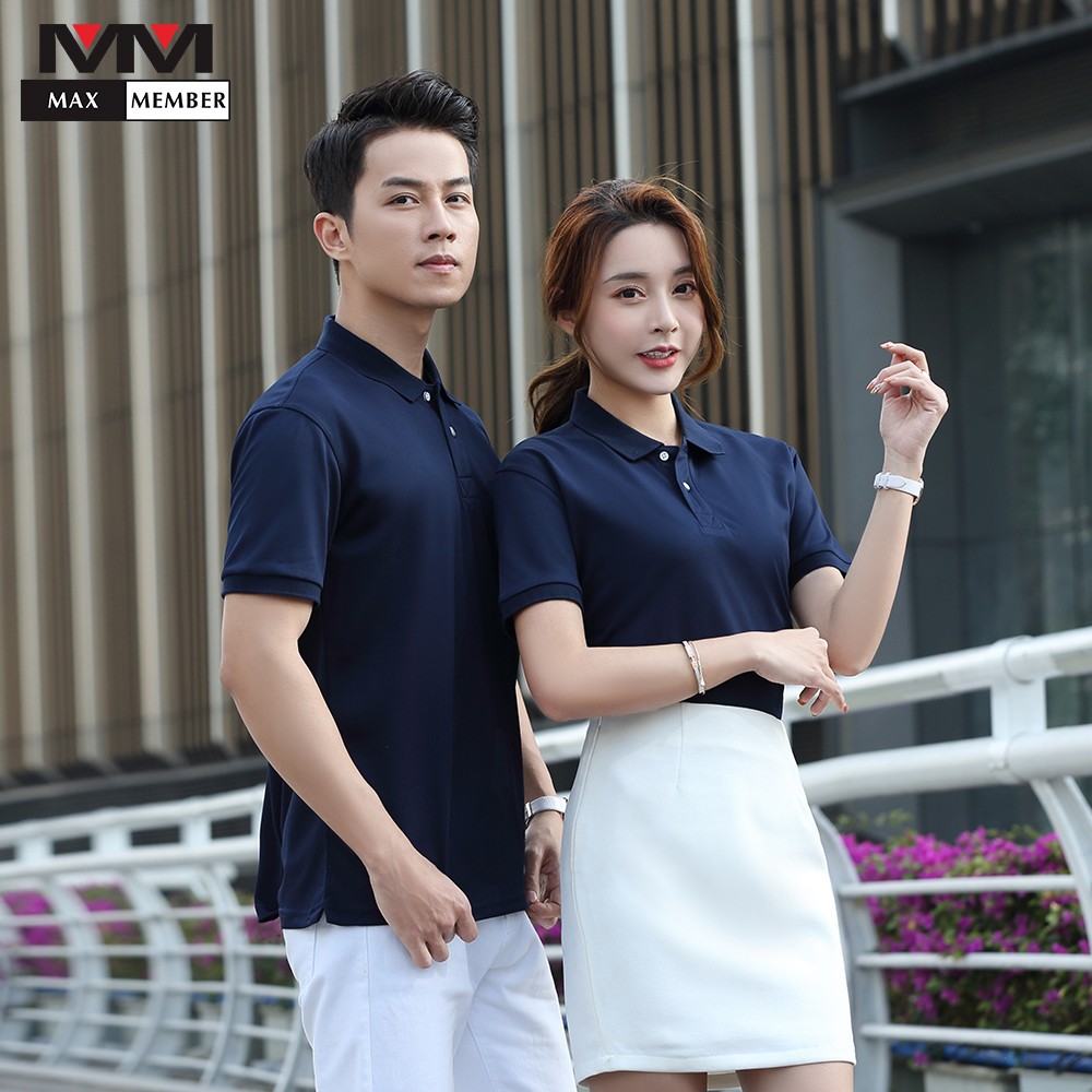 Waiter Uniform Food Service Solid Color Wearable Unisex POLO Shirt Cool Casual Shirt Hotel Barber Dessert Shop Work Clothes