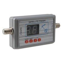 Numérique des Signaux Satellite Finder Compteur pour Plat Net travail Directv FTA gris