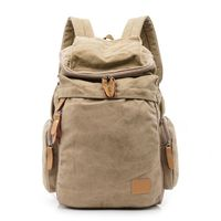 Outdoor Travel Vintage Outdoor Canvas Backpack for Men Casual Daypacks Retro Rucksack
