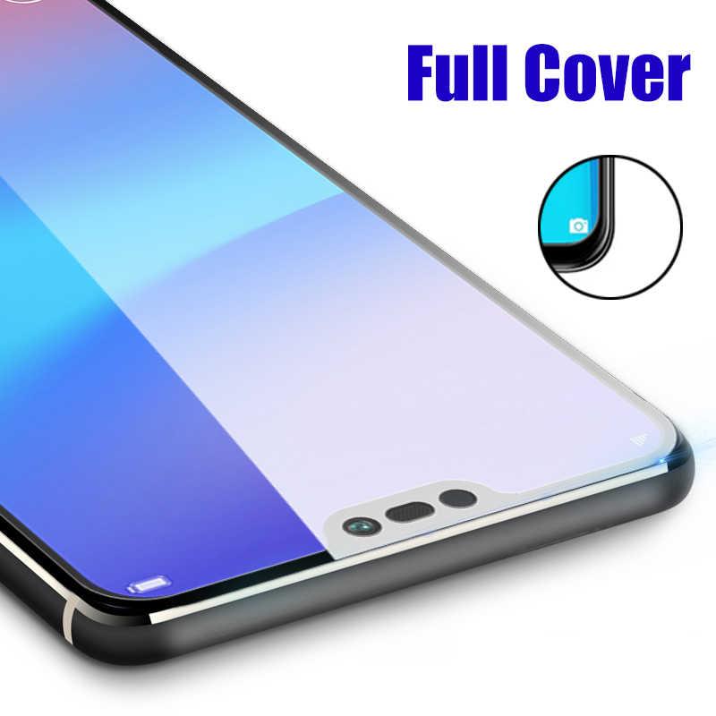 Kaca Pelindung Di untuk Huawei Y7 Pro Y9 2019 Tempered Glas Film Huavei Tremp Y7 9 Y7pro Pelindung Layar Huaway 9y Perlindungan