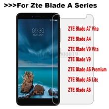 Tempered Glass Zte Blade A7 Vita A4 A6 Lite V9 Premium Screen Protector Safety Protective Film on A7Vita A6Lite A 7 6 4 Glass цена и фото