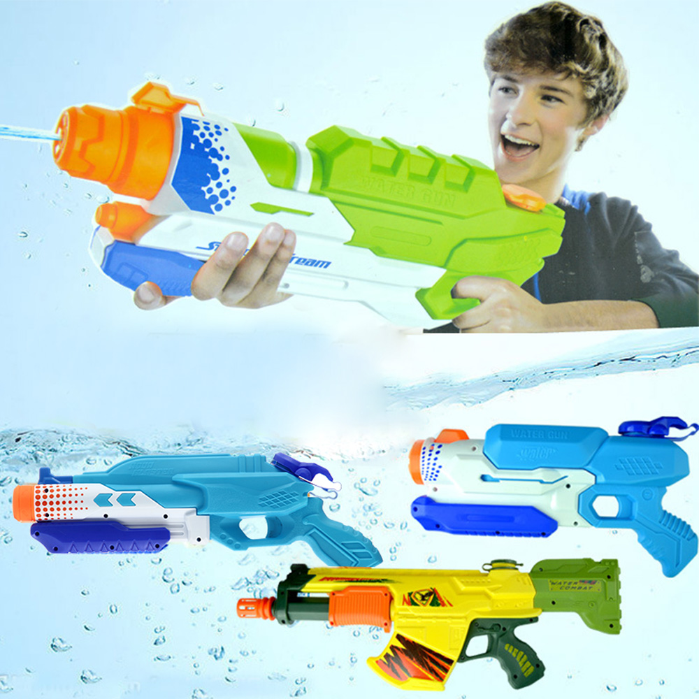 1247 Large High Pressure Water Gun Toy Water Gun Beach Toy Swim Drifting Battle Summer Hot Toy Waterpistool Range Far