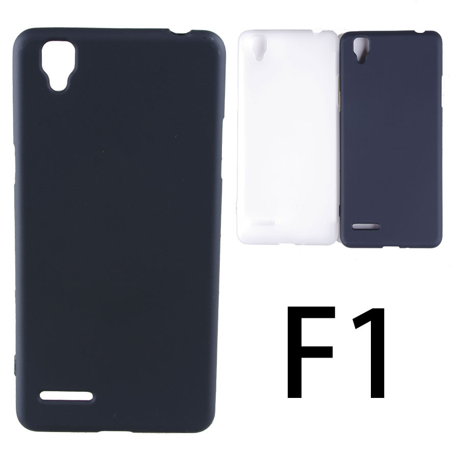 Matte Soft TPU Gel Case For OPPO F1 Case Dual SIM For OPPO F1 Cover F 1 Mobile Phone Cases Free Shipping