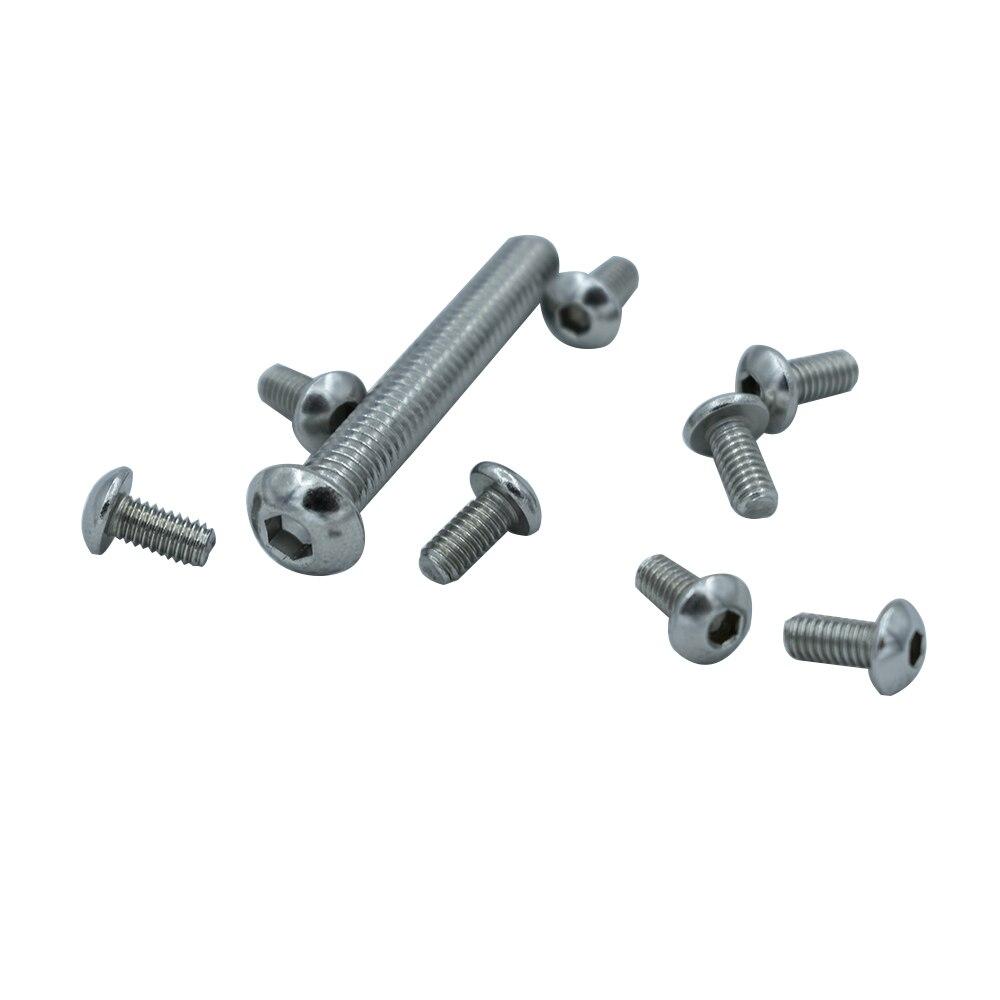 25  Stück ULS Schrauben Innensechskant DIN ISO 7380 M6x35 A2 EDELSTAHL V2A