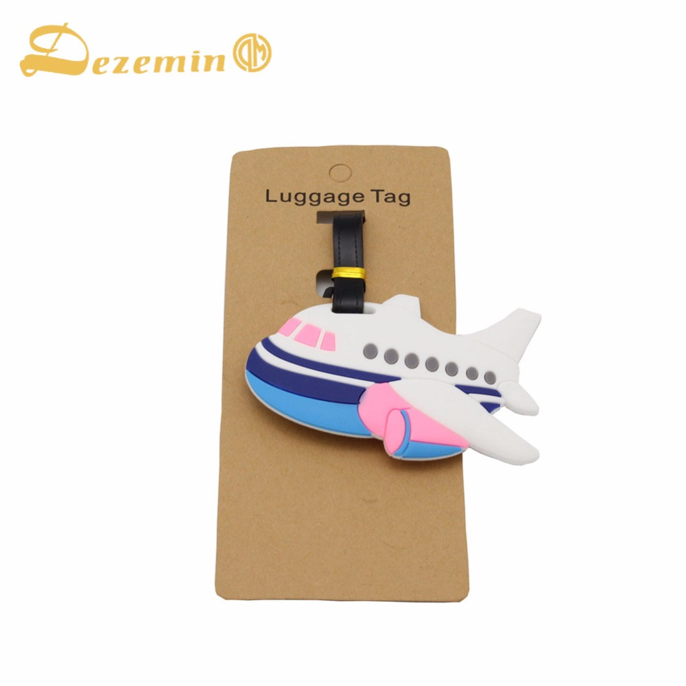 DEZEMIN Travel Luggage Tags Suitcase ID Address Name Card Indentifier