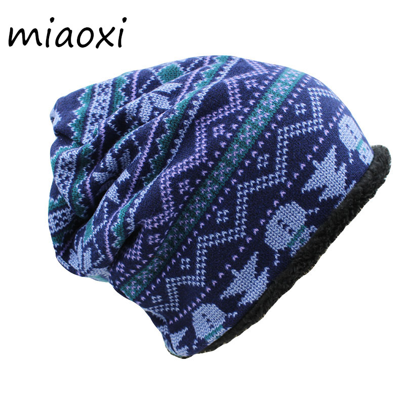 miaoxi Casual Women Winter Think Warm Hat New Arrival Girl's Beauty Knitted Adult Fashion Caps Scarf For Lady Autumn Beanies miaoxi women autumn hat two used caps knitted scarf adult unisex casual letter beanies warm autumn beauty skullies hat girl cap