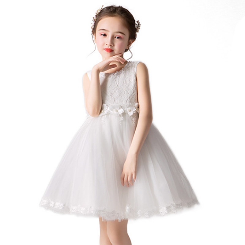 Summer   flower     girls   party   dress   ball gown for kids princess   dress   baby costume first communion tutu   dresses   ladies costume