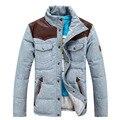 Grossa para baixo jaqueta masculina jaqueta homens para baixo Homens jaqueta de Inverno 2017 de Pato Para Baixo Jaqueta Casaco de 28