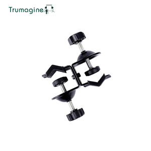 Image 2 - TRUMAGINE Double Heavy Duty U Clip C Clamp Twin For Photo Studio Light stand For Photography Studio Flash Shooting Accessories