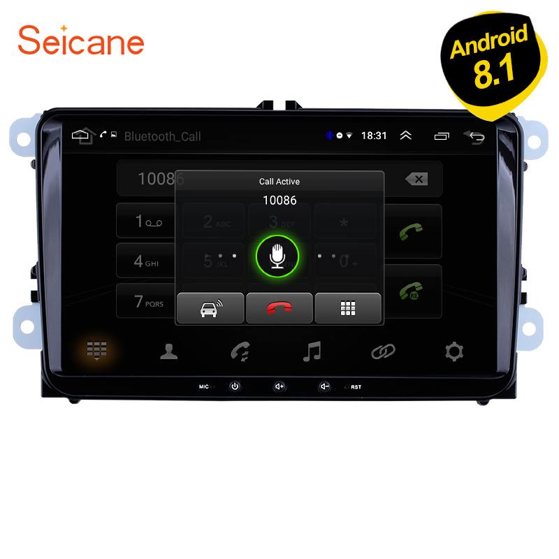 Seicane Android 8.1 2Din 9 Car Stereo Auto Multimedia For VW Universal SEAT LEON Golf Passat b5 b6 CC Sharan Polo Skoda MagotanSeicane Android 8.1 2Din 9 Car Stereo Auto Multimedia For VW Universal SEAT LEON Golf Passat b5 b6 CC Sharan Polo Skoda Magotan
