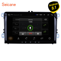 Seicane Android 8.1 2Din 9 Car Stereo Auto Multimedia For VW Universal SEAT LEON Golf Passat b5 b6 CC Sharan Polo Skoda Magotan