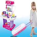 Classic Kids Toys Girls Child Medical Kit Children Doctor Kit Medicine Cabinet Doctor Play Set Gifts For Medical Doctors 38 pcs