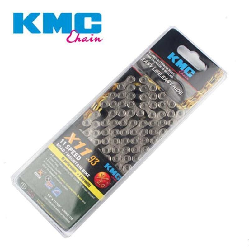 купить KMC X11.93 X11 Bicycle Chain 116L 11 Speed Bicycle Chain With Original box and Magic Button for Mountain/Rod Bike Bicycle Parts