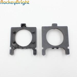 Rockeybright H7 светодиодная лампа адаптер держателя фары для Ford Focu s Ближний свет H7 LED Конвертация автомобильная лампа Фиксатор Зажим держатель ад...