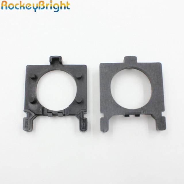 Rockeybright H7 adaptors for led headlight H7 BULB HOLDER for Ford Focus H7 adapter holder socket LED fog lamps H7 adapter base