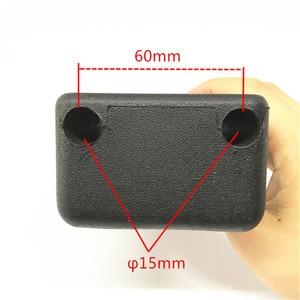 Image 3 - Jadkinsta Video kamera omuz pedi kamera DV DC sabit omuz dağı 15mm çubuk destek sistemi DSLR Rig kamera çekim