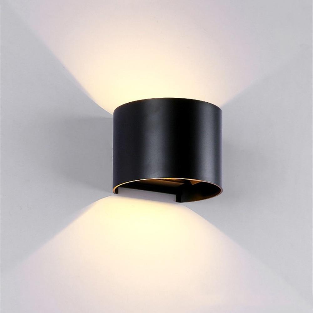 Tanbaby Étanche Extérieure LED Mur lumière 6 w 12 w COB Haute luminosité et spot applique murale luminaire intérieur décor