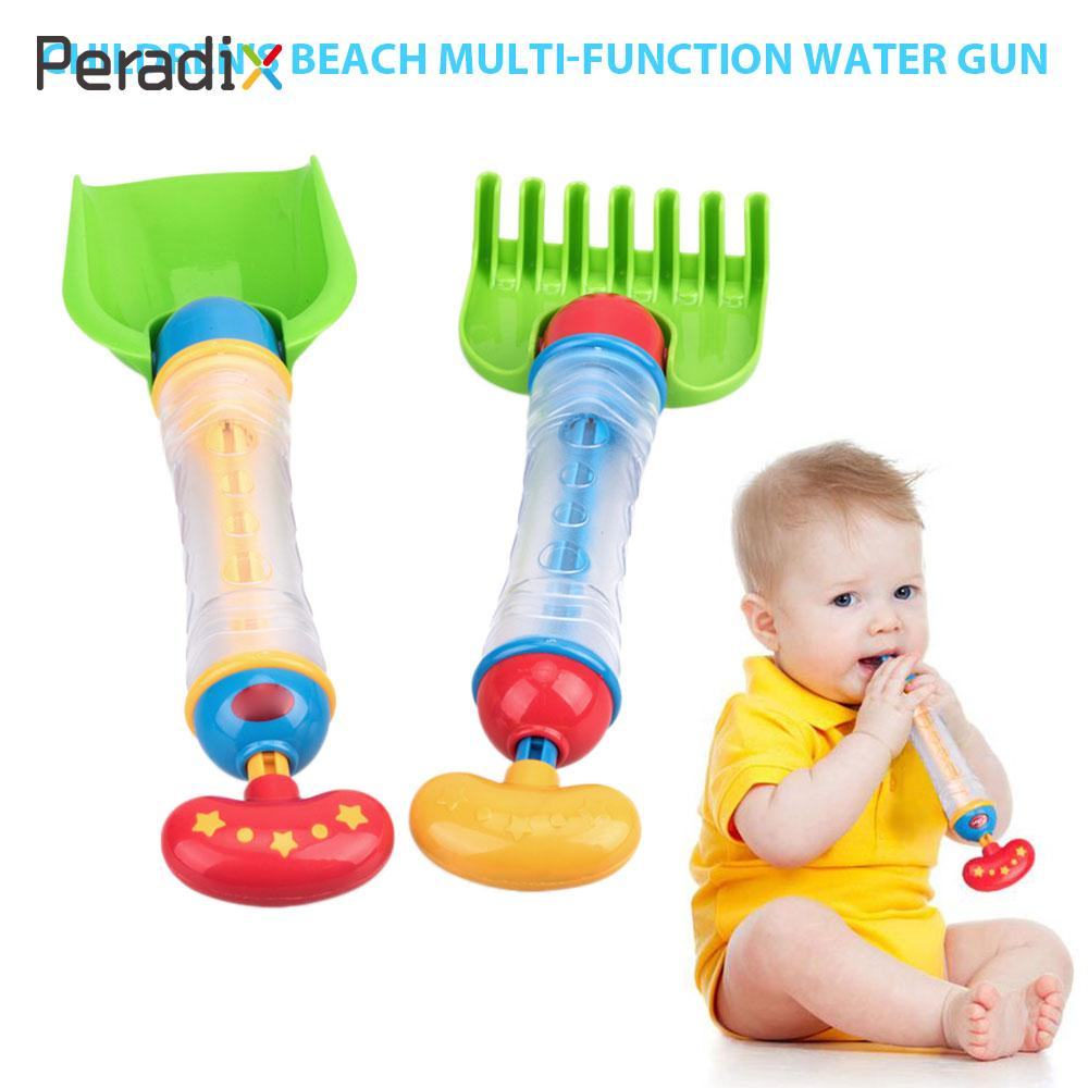 Swimming Pool Water Spray Toy Water Toys Multi-Function Fun Paddle Toys 2-In-1 Beach Shovel Rake Sand Summer Shooting Spraying