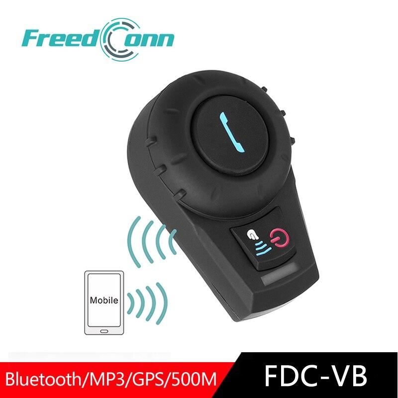 FreeConn Bluetooth Headset Motorcycle FDCVB  Bluetooth Earphone For Helmet Moto Intercom Motorrad Helmet Intercomunicador FM GPS