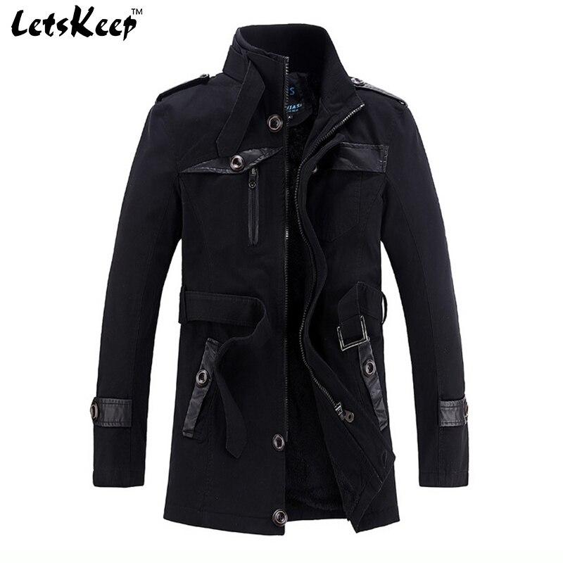 Aliexpress.com : Buy Letskeep 2016 New Winter fleece trench coat ...