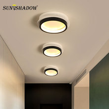купить D20cm 10w Simple  Modern LED Wall Light For  Living room Bedroom Corridor Entrance Balcony Light Sconce Led Wall Lamp Luminaires по цене 2233.35 рублей