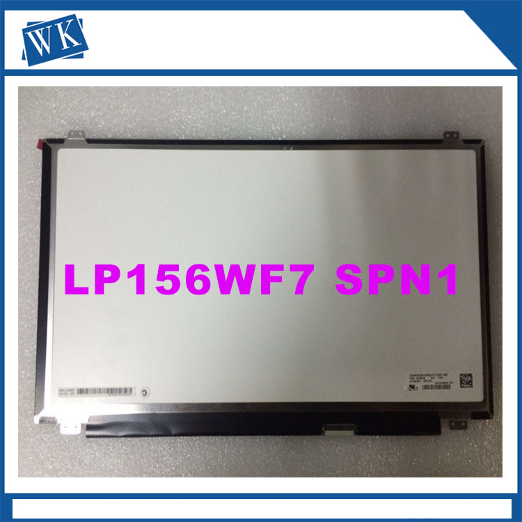 Free  shipping for Dell LP156WF7 SPA1 LP156WF7 (SP)(A1) LP156WF7-SPA1 LCD Screen Display  FHD 1920*1080 eDP 40pins free shipping nv156fhm n42 laptop lcd screen display for p50 1920 1080 edp 00ht920