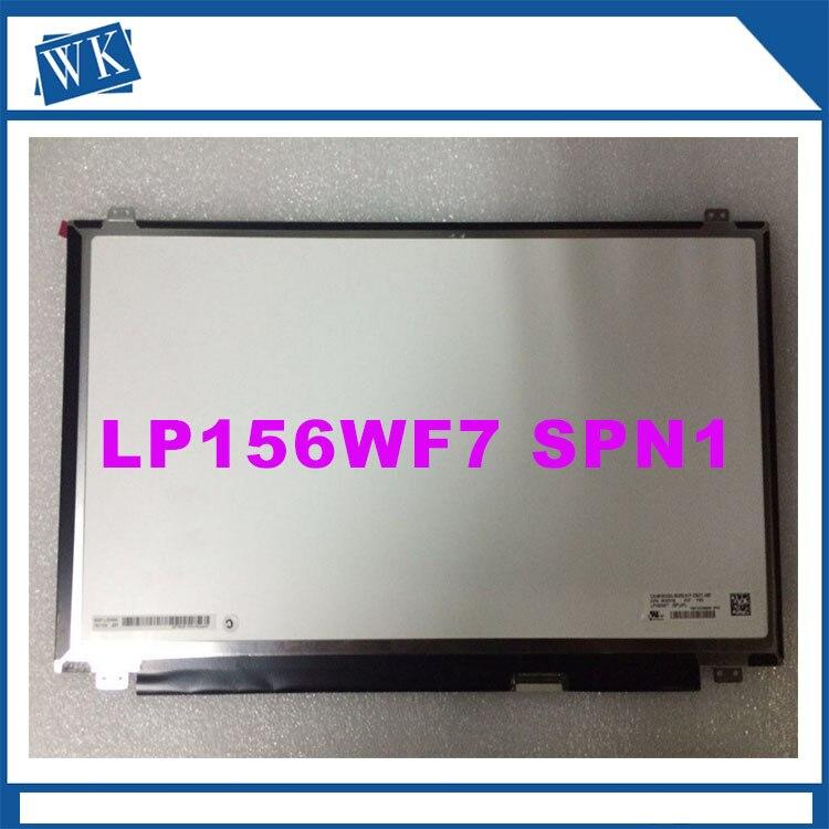 Trasporto libero per Dell LP156WF7 SPA1 LP156WF7 (SP) (A1) LP156WF7-SPA1 LCD schermo di Visualizzazione Dello Schermo FHD 1920*1080 eDP 40 pins