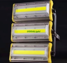 LED floodlight 50-400w Waterproof IP65 flood light AC85-265V spotlight outdoor lighting for Gargen wall Lamp power tunnel lights