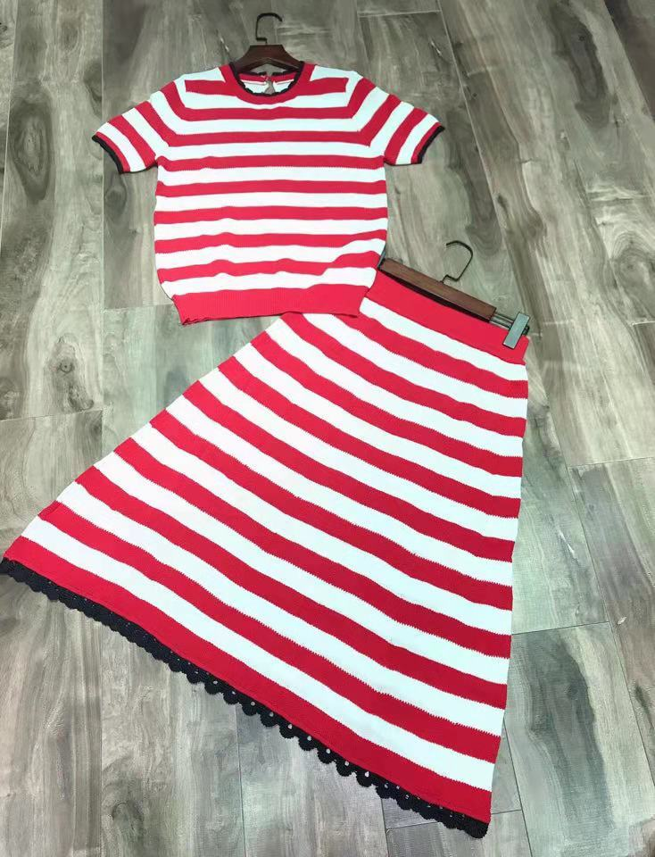 Rouge 2019 noir Piste De Style Mode Design Marque Bh03782 Vêtements Luxe Partie Ensembles Européenne Femmes CBO5Owxg