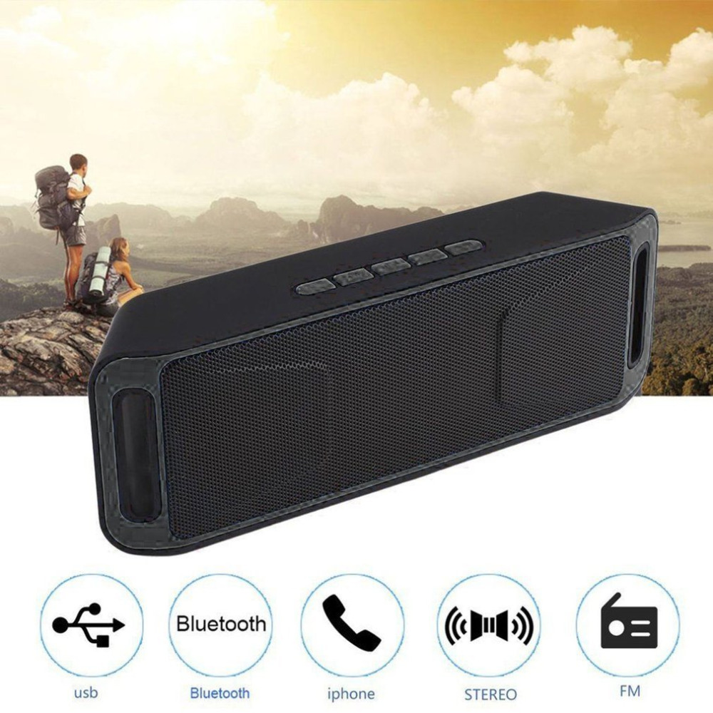Loudspeaker portable speaker Bluetooth soundbar Stereo speakers 3D Surround TF Speaker sound bar for laptop caixa de som