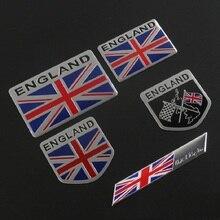 Наклейки на автомобиль с флагом Англии эмблема Великобритании для BMW Audi Ford Land Rover Mini Cooper Jaguar Авто Стайлинг