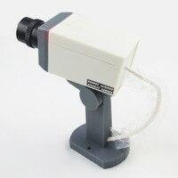 Hot Sells Waterproof Outdoor Indoor Fake Camera Security Dummy CCTV Surveillance Camera Night CAM LED Light