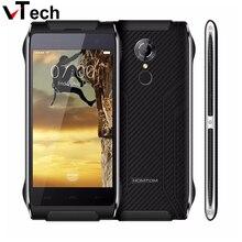 4.7 Inch HOMTOM HT20 Android 6.0 MTK6737 Quad Core Мобильного Телефона 8.0MP 2 Г RAM 16 Г ROM Водонепроницаемый IP68 Отпечатков Пальцев 4 Г LTE Мобильного Телефона