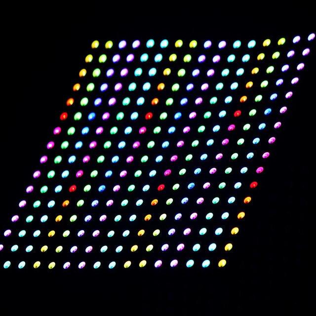 WS2812 LEVOU 5050 RGB 16x16 256 Painel de LED Display Dot Matrix para Arduino Raspberry Pi Matriz Para Adafruit