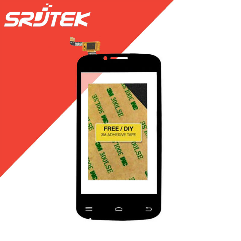 4 inch Cubot GT95 Touch Screen Digitizer Sensor Capacitive Outer Glass Black Replacement Parts Black