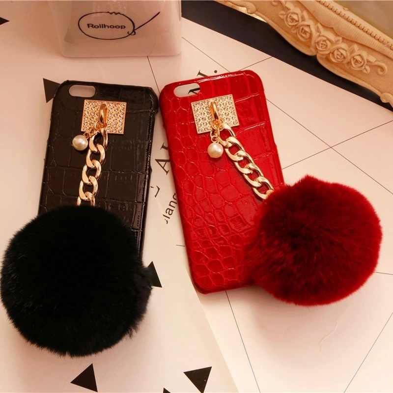 Mobile phone shell manual diy alloy pearl material package set accessories mobile phone pendant
