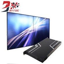 SZBITC Splicing Tela Grande Parede De Vídeo Controlador 1080 P TV Mostra Processador HDMI Splitter 1×1,1×2,1×3,1×4,2×1,2×2,3×1,4×1