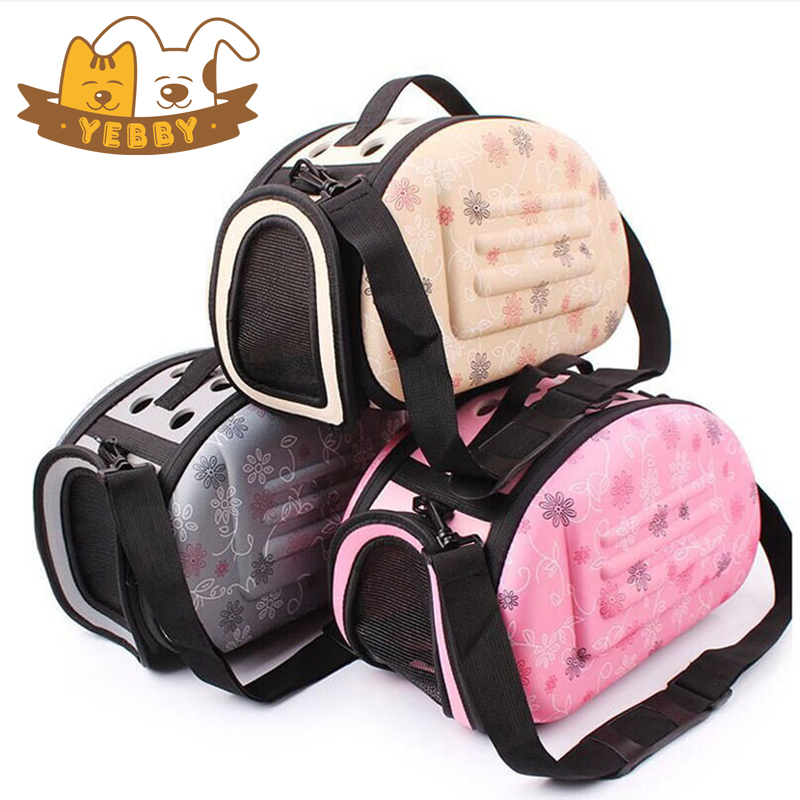 Cat Carriers Bags Small Dog Pet Breathable Foldable Transport Portable Should Bags Slings Daily Use With Zipper