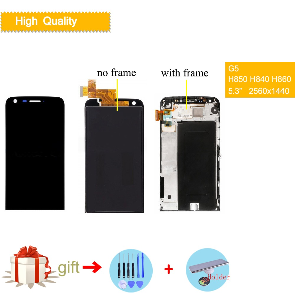 5.3 Original Display For LG G5 LCD Touch Screen with Frame H840 H850 H860 H830 H820 VS987 LS992 Screen for LG G5 LCD Display5.3 Original Display For LG G5 LCD Touch Screen with Frame H840 H850 H860 H830 H820 VS987 LS992 Screen for LG G5 LCD Display