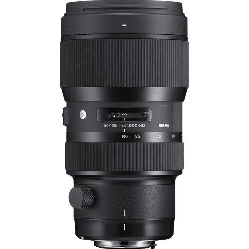 シグマ 50 〜 100 ミリメートル f/1.8 DC HSM アート用 D3200 D3300 D3400 D5200 D5300 D5500 d5600 D90 D7000 D7100 D7200 D7500 D300 D500  グループ上の 家電製品 からの カメラレンズ の中 1
