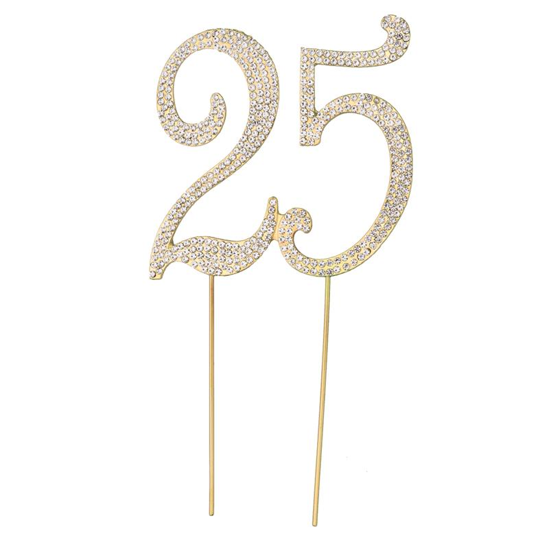 BESTOYARD Decorative Cupcake Topper Birthday Anniversary