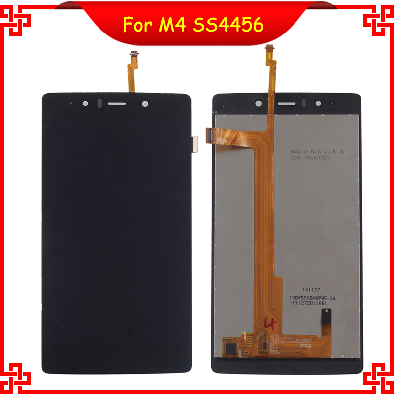 ФОТО For M4 SS4456 4456 TXDS550SHDPA-78  LCD Display Touch Screen Black Color Mobile Phone LCDs Free Shipping