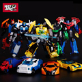 New Arrival Deformation Robots Leader Optimus Robot Model Action Toy Figures Classic Boy Car Gift