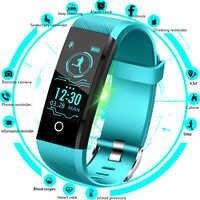 LIGE 2019 nouvelle montre intelligente hommes pression artérielle moniteur de fréquence cardiaque Tracker de Fitness femmes Bracelet intelligent Bracelet de sport bande intelligente