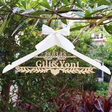 На заказ Свадебная Вешалка для невесты, свадебный подарок, Свадебные/девичьи вечерние подарки, вешалка для свадебного платья, оливковая ветка вешалка для платья