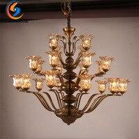 CHARLESLIGHTING 24 Главы базы E14 Новый Классический пост Современные Lights/подвесные светильники, подвесные светильники