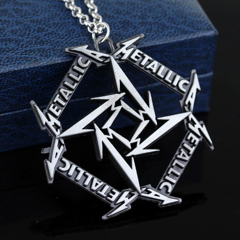 popular metallica necklace buy cheap metallica necklace lots from china metallica necklace