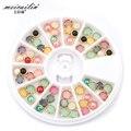 New 3D Mix Nail Rhinestones Nail Art Tips Glitters Rhinestone Round Nail Decoration Set DIY Colorful Diamond Jewelry Accessories