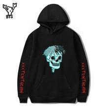 BTS 2018 Hot Sale Hip Hop Hoodies Sweatshirts Raper XXXTentacion Harajuku Men Cool Casual Print Autumn Plus Size 4XL A8322-A8324
