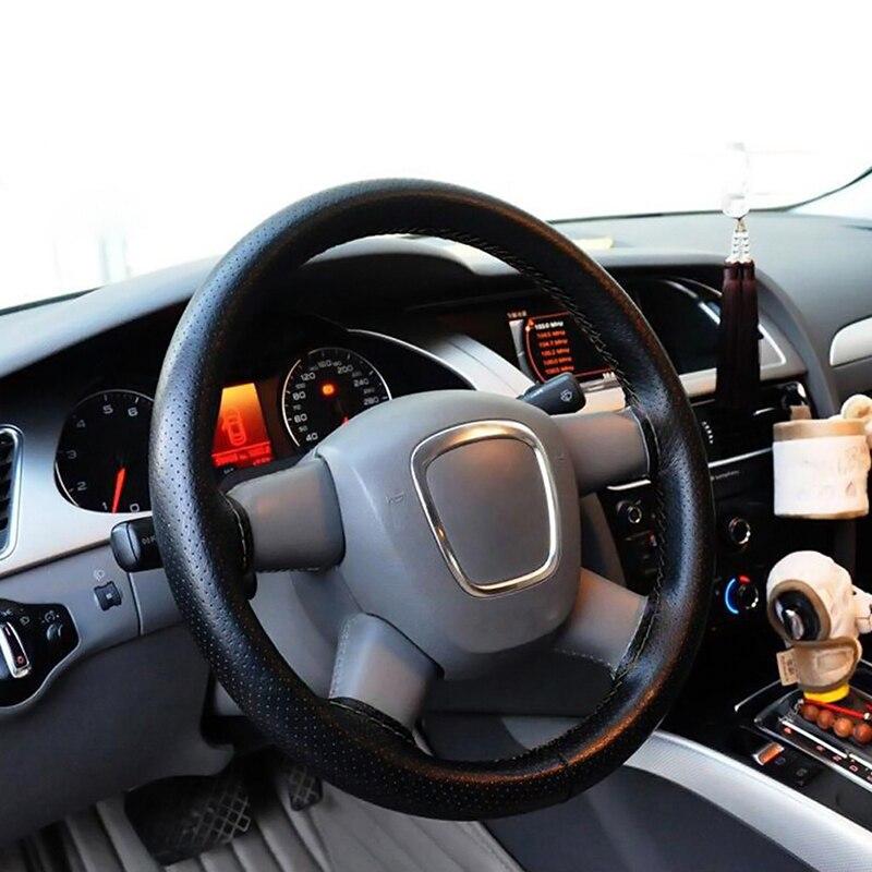 Ny Ankomst Volante 38cm Car Microfiber Læder Auto Rathjul Dæksel - Bilinteriør tilbehør - Foto 5
